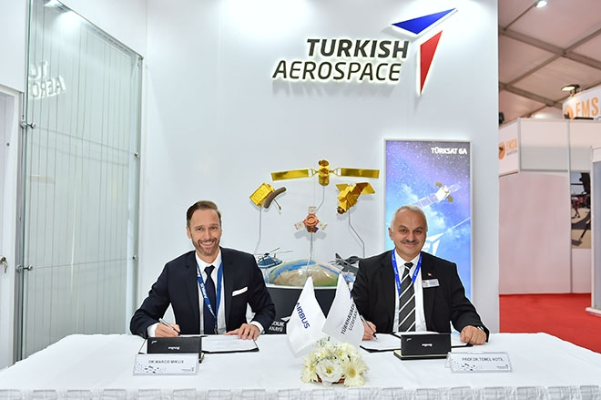 TUSAŞ ve Airbus ticari uçak teknolojilerini birlikte yürütecek!