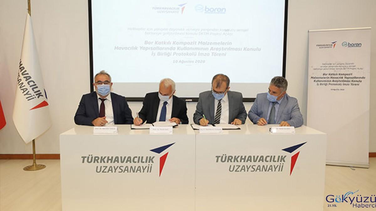#Tusaş ve Boren İş Birliği Anlaşması İmzaladı