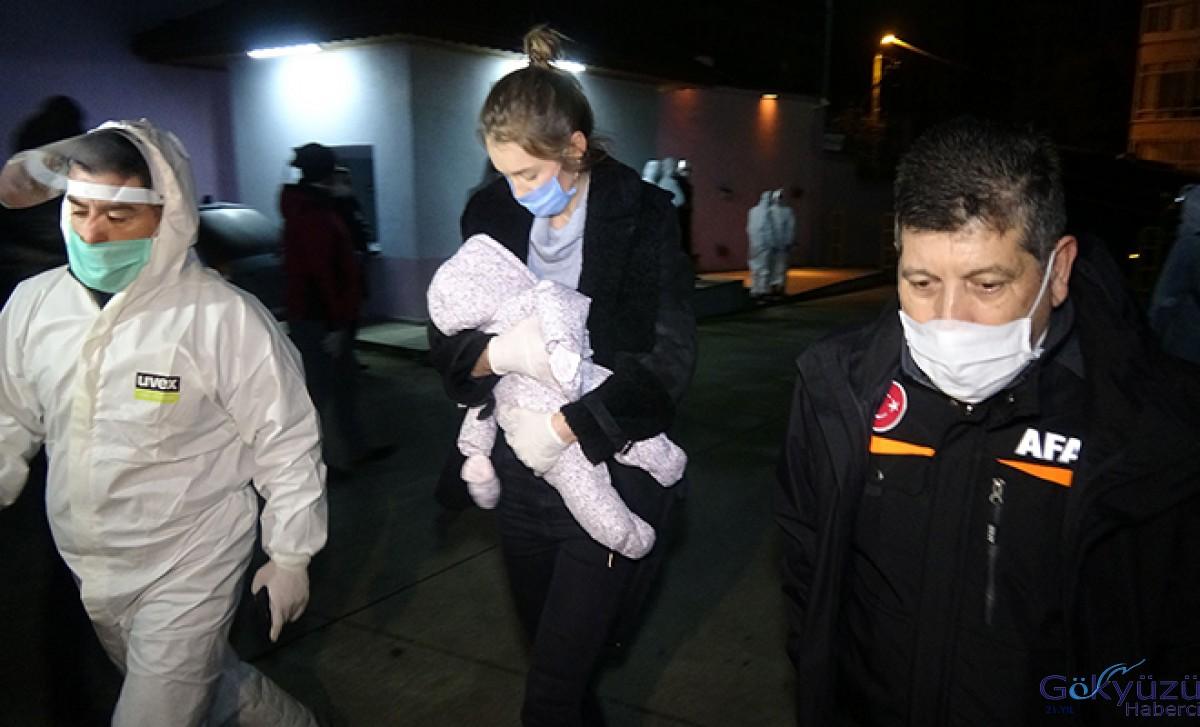 Ukrayna'dan getirilen 180 kişi, Rize'de karantinaya alındı