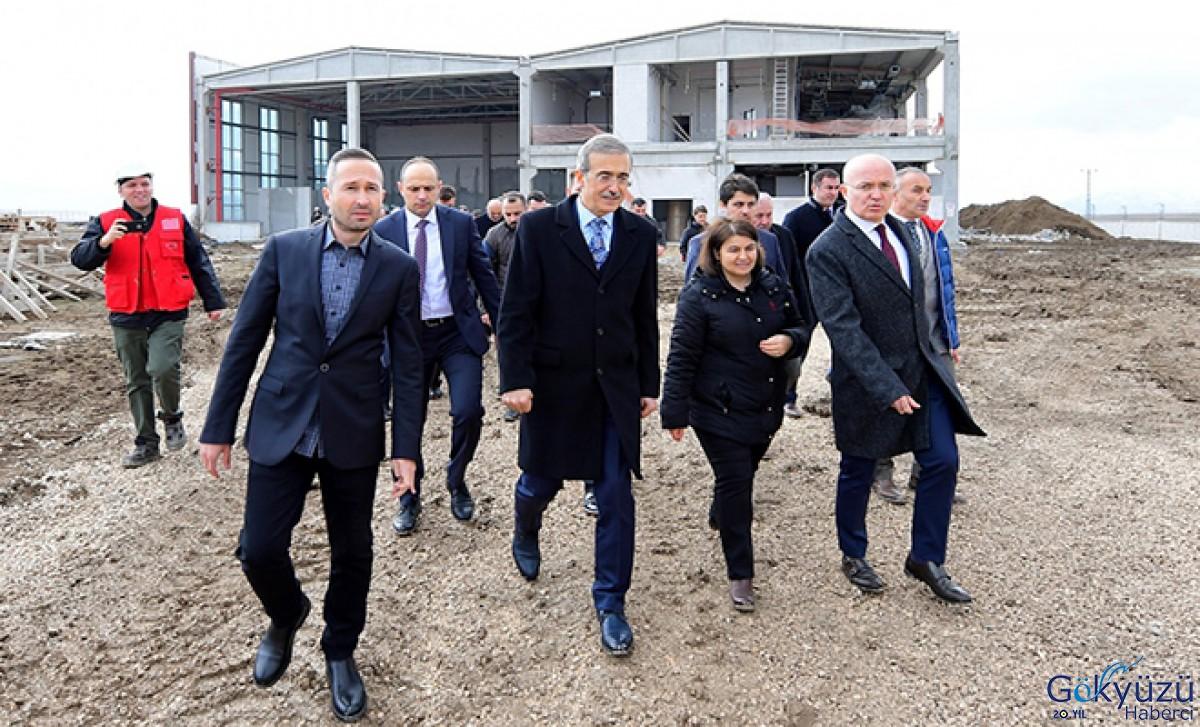 #Uzay ve Havacılık merkezi 2022'de tamamlanacak
