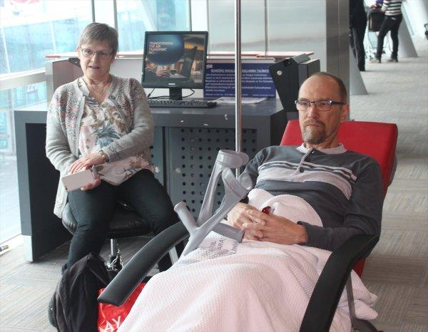 Yaralanan Turisti TGS Personeli Yanlız Bırakmadı