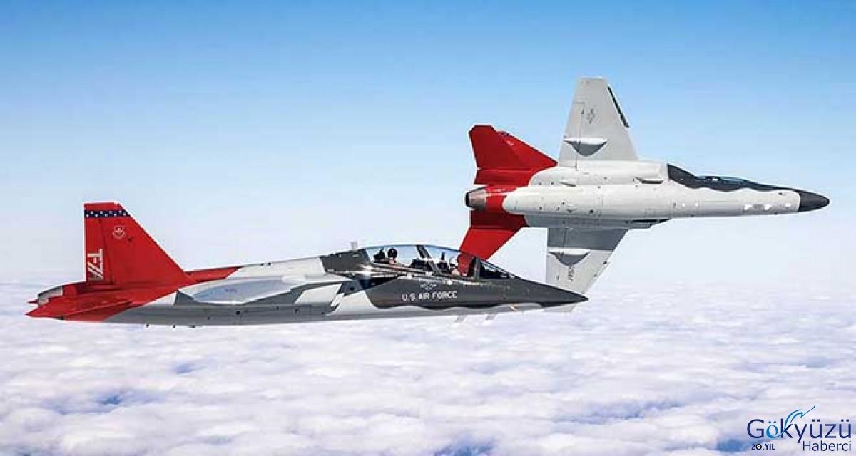 Yeni adı açıklandı T-X'in adı T-7A Red Hawk