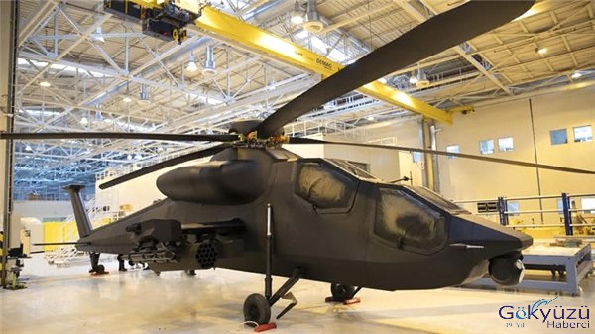 Yeni Yerli Taarruz Helikopteri Atak-2'nin İlk Fotoğrafı