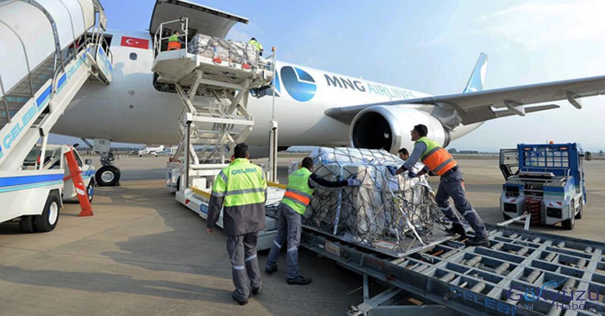 Yenişehir Havalimanı'ndan ilk kargo seferi
