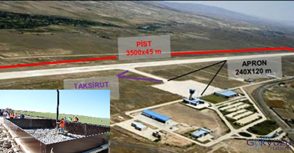 Yozgat Havalimanı inşaatında korkunç ölüm!