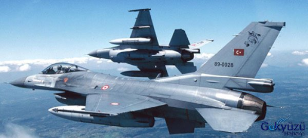 Yunan Uçak Ve Füzeleri Türk Jet'lerini Taciz Etti