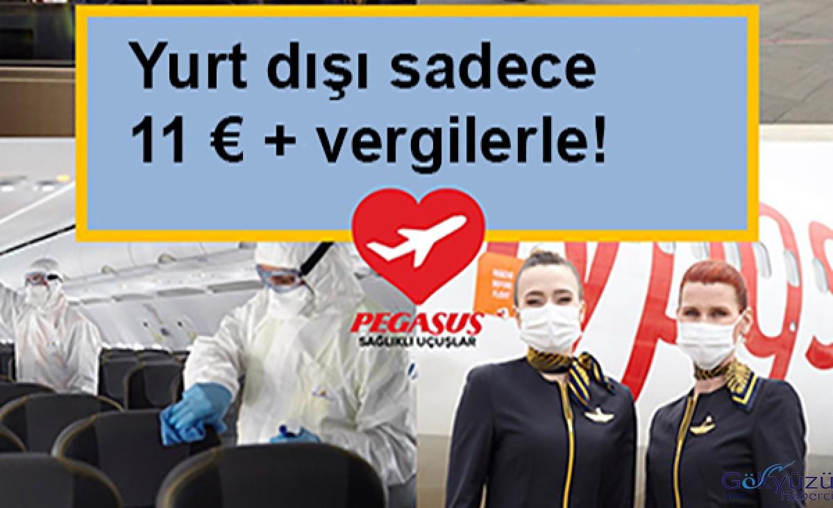 #Pegasus,Yurt dışı sadece 11 € + vergilerle!